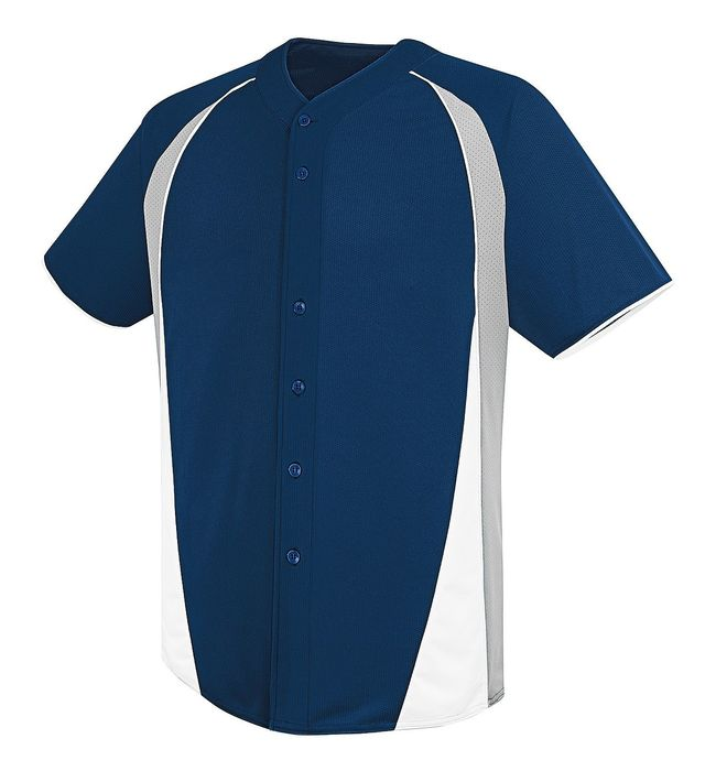 Image for Adult Ace Full Button Jersey from ASG