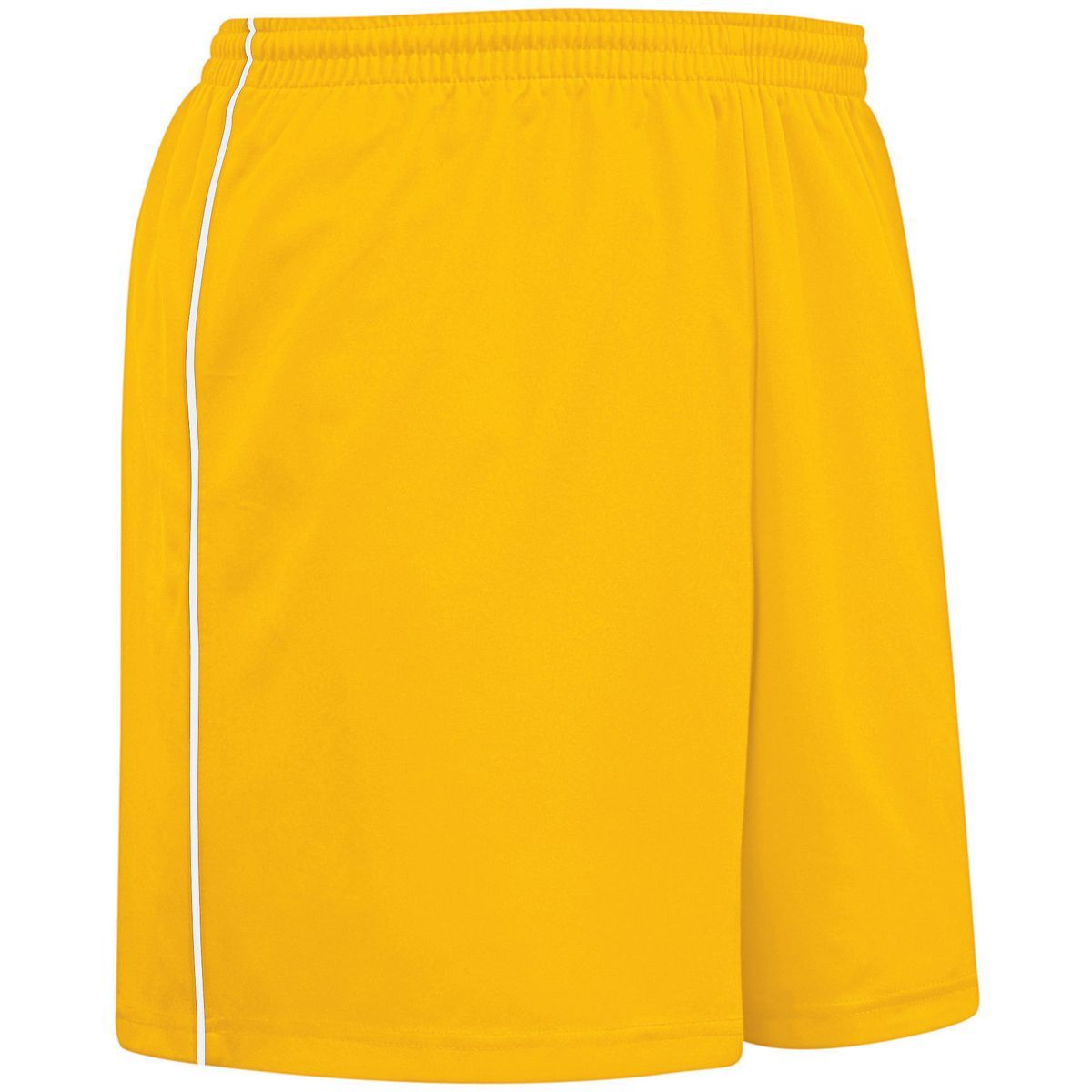 Ladies Flex Shorts - ATHLETIC GOLD/WHITE