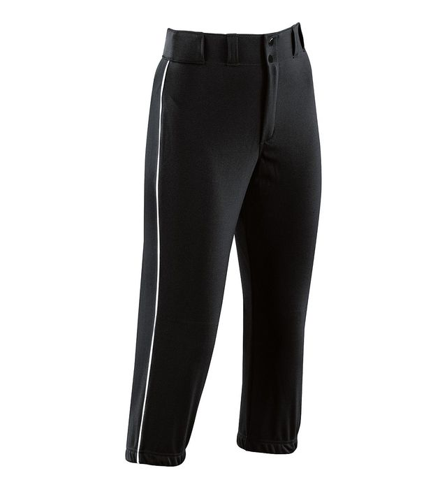Image for Girls Piped Prostyle Low-Rise Softball Pant from ASG
