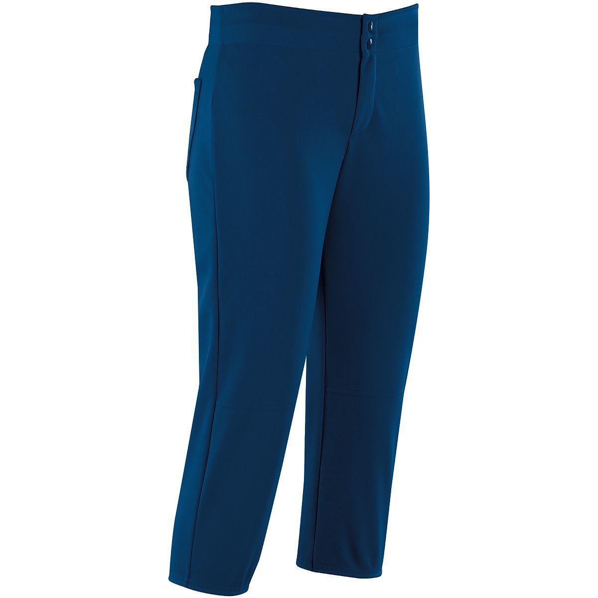 Ladies Unbelted Softball Pant - NAVY