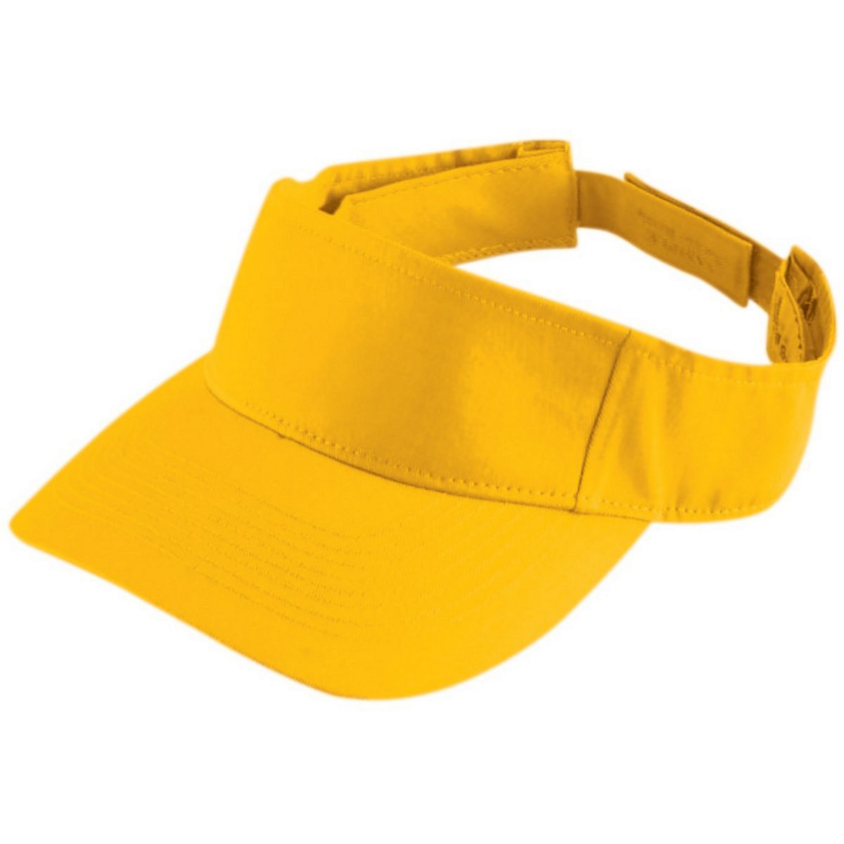 Adult Sport Twill Visor - ATHLETIC GOLD