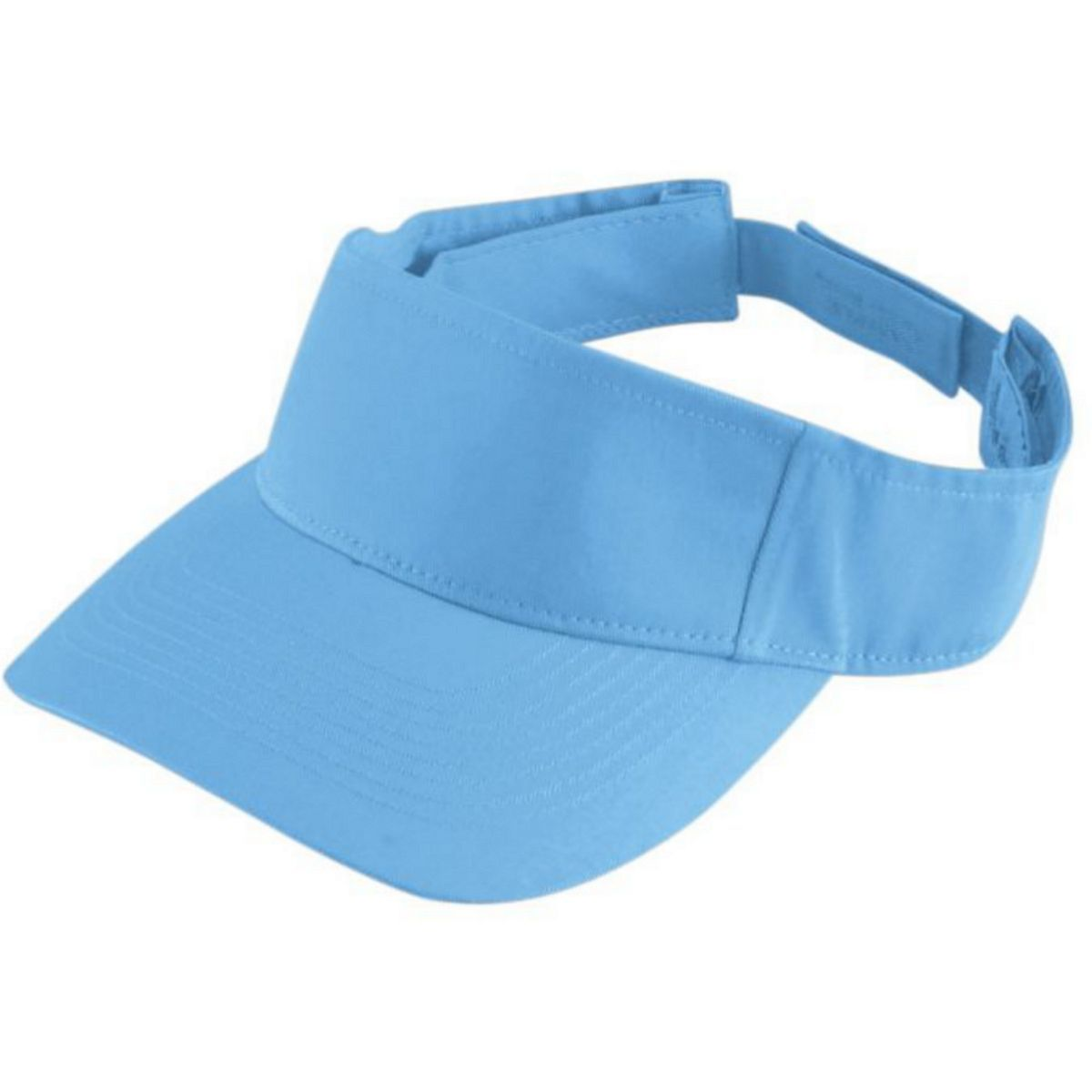 Youth Sport Twill Visor - COLUMBIA BLUE