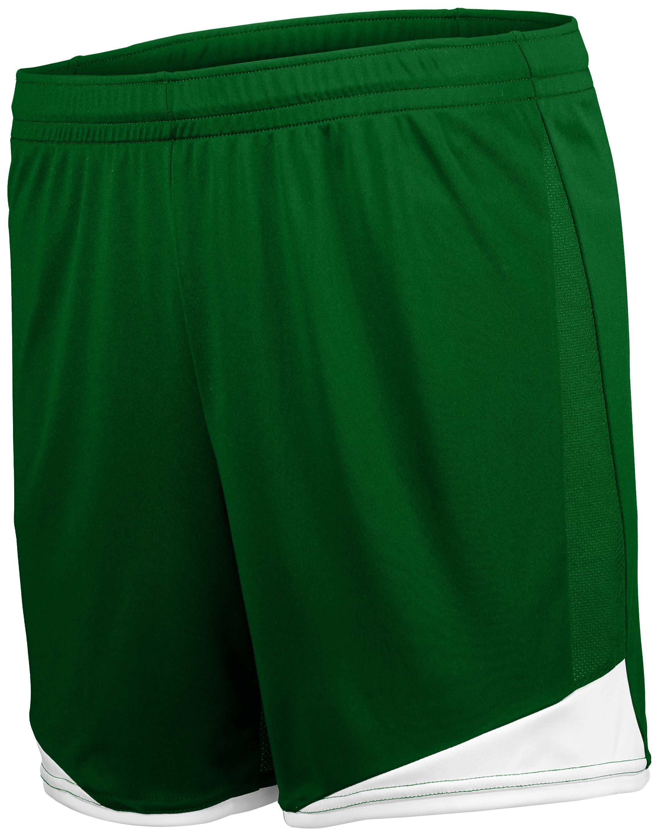 Ladies Stamford Soccer Shorts - FOREST/WHITE