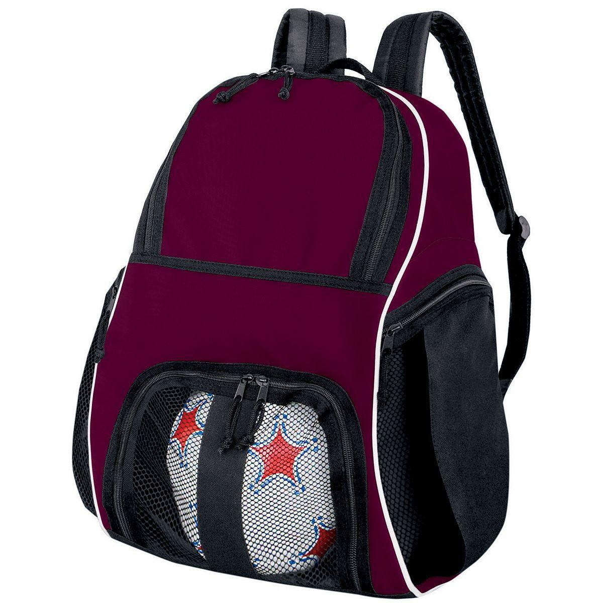 Backpack - MAROON/BLACK/WHITE