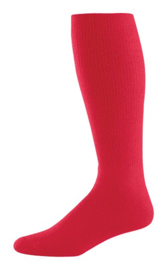 Athletic  Sock - SCARLET