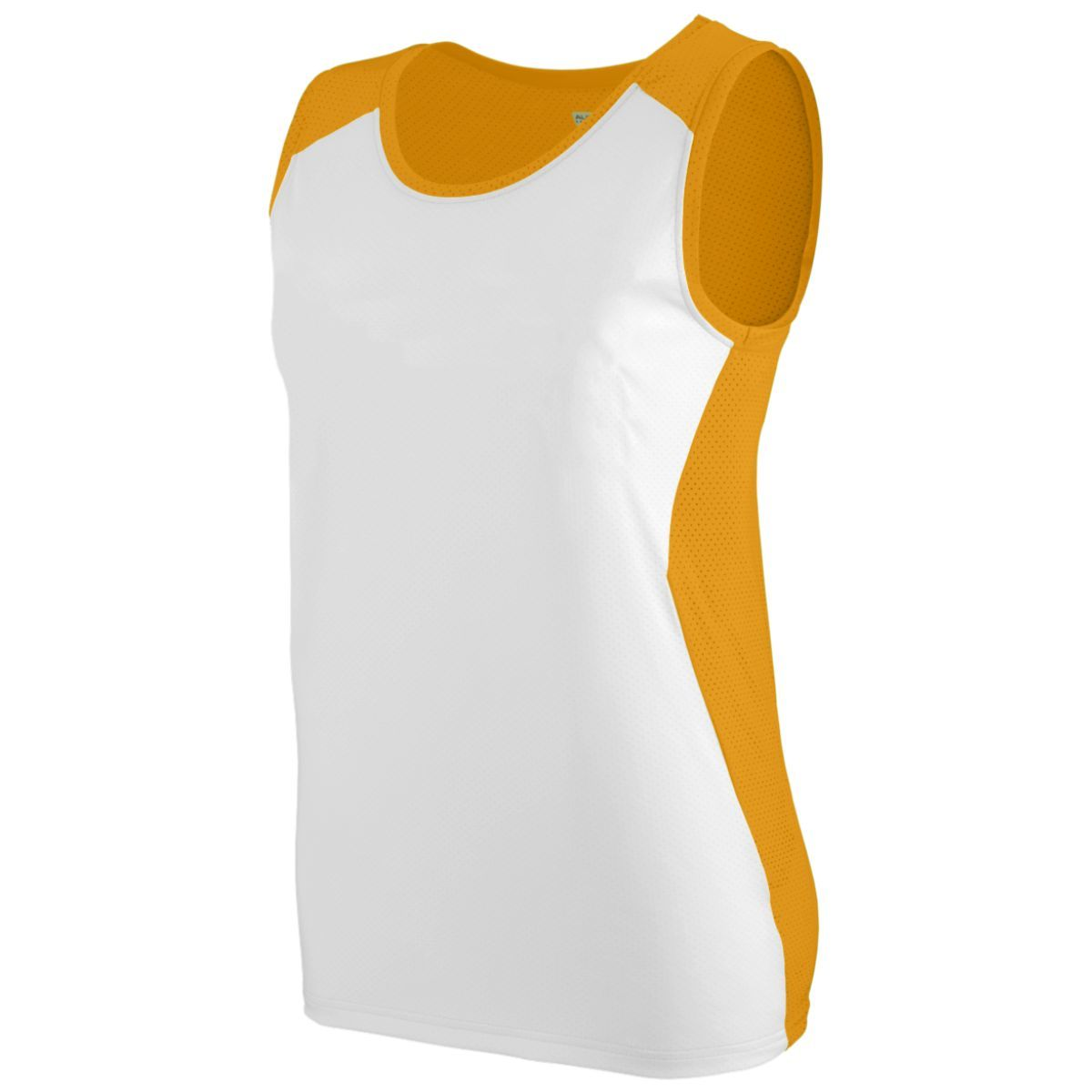 Ladies Alize Jersey - GOLD/WHITE