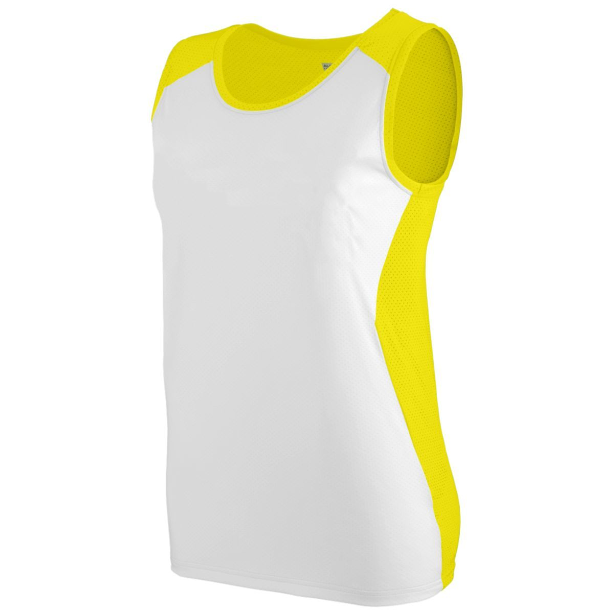 Ladies Alize Jersey - POWER YELLOW/WHITE