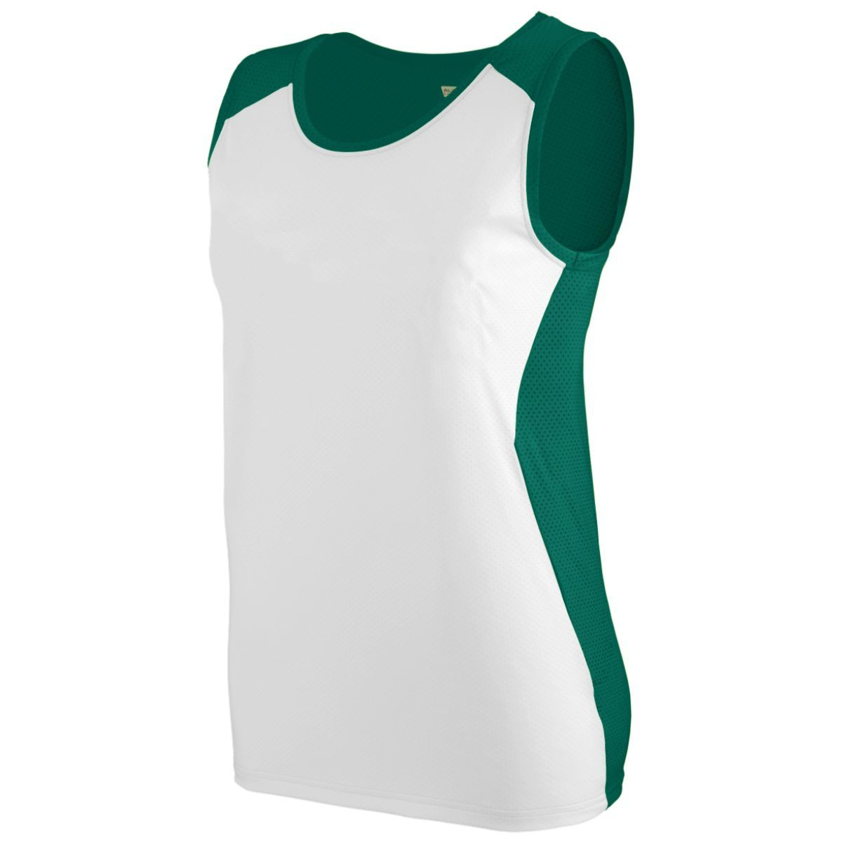 Ladies Alize Jersey - DARK GREEN/WHITE