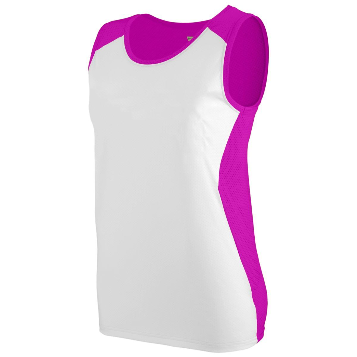 Ladies Alize Jersey - POWER PINK/WHITE