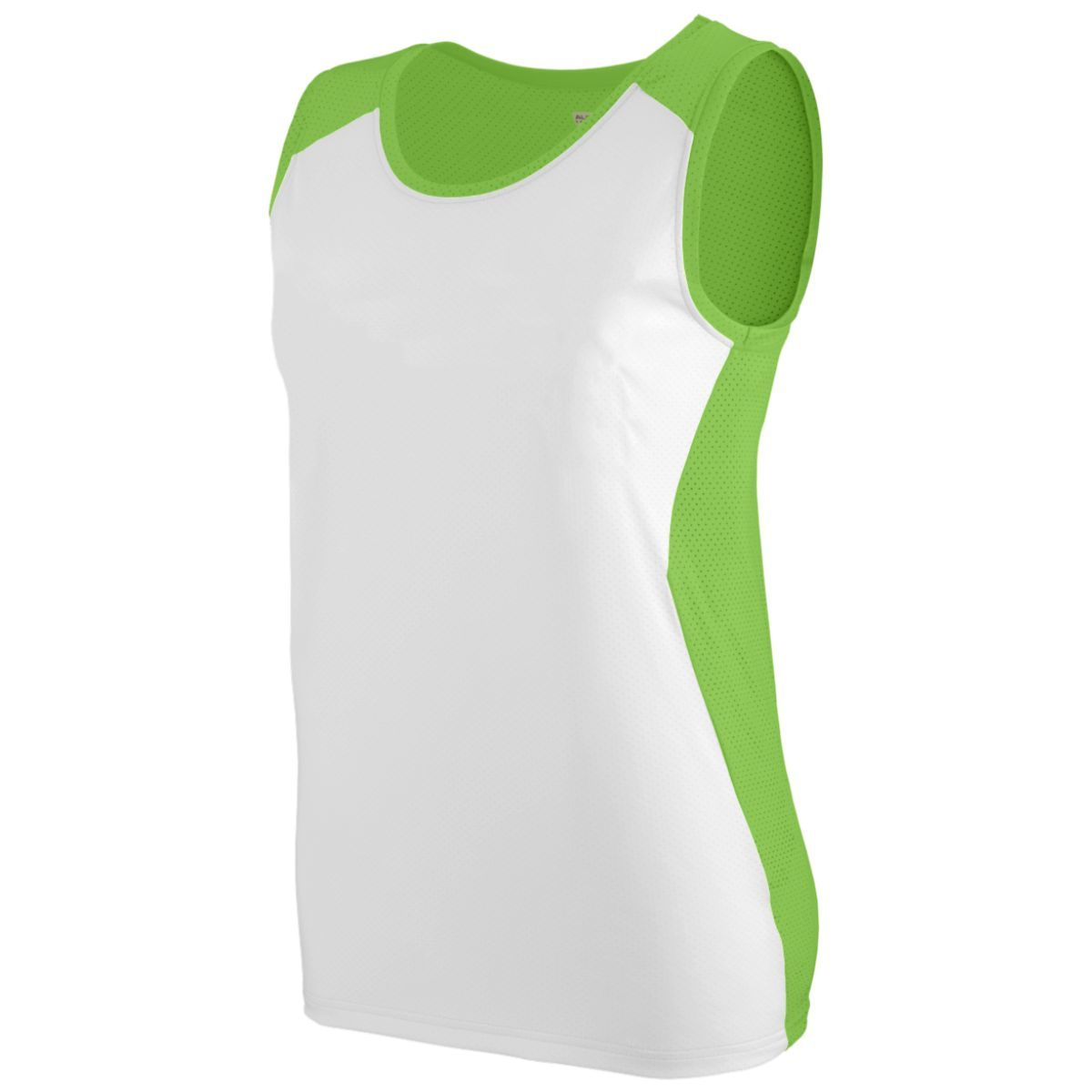 Ladies Alize Jersey - LIME/WHITE