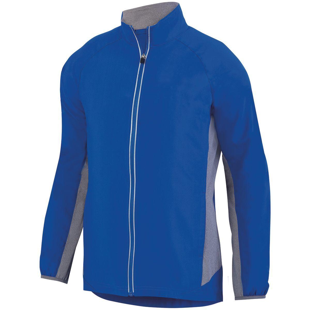 Preeminent Jacket - ROYAL/GRAPHITE HEATHER