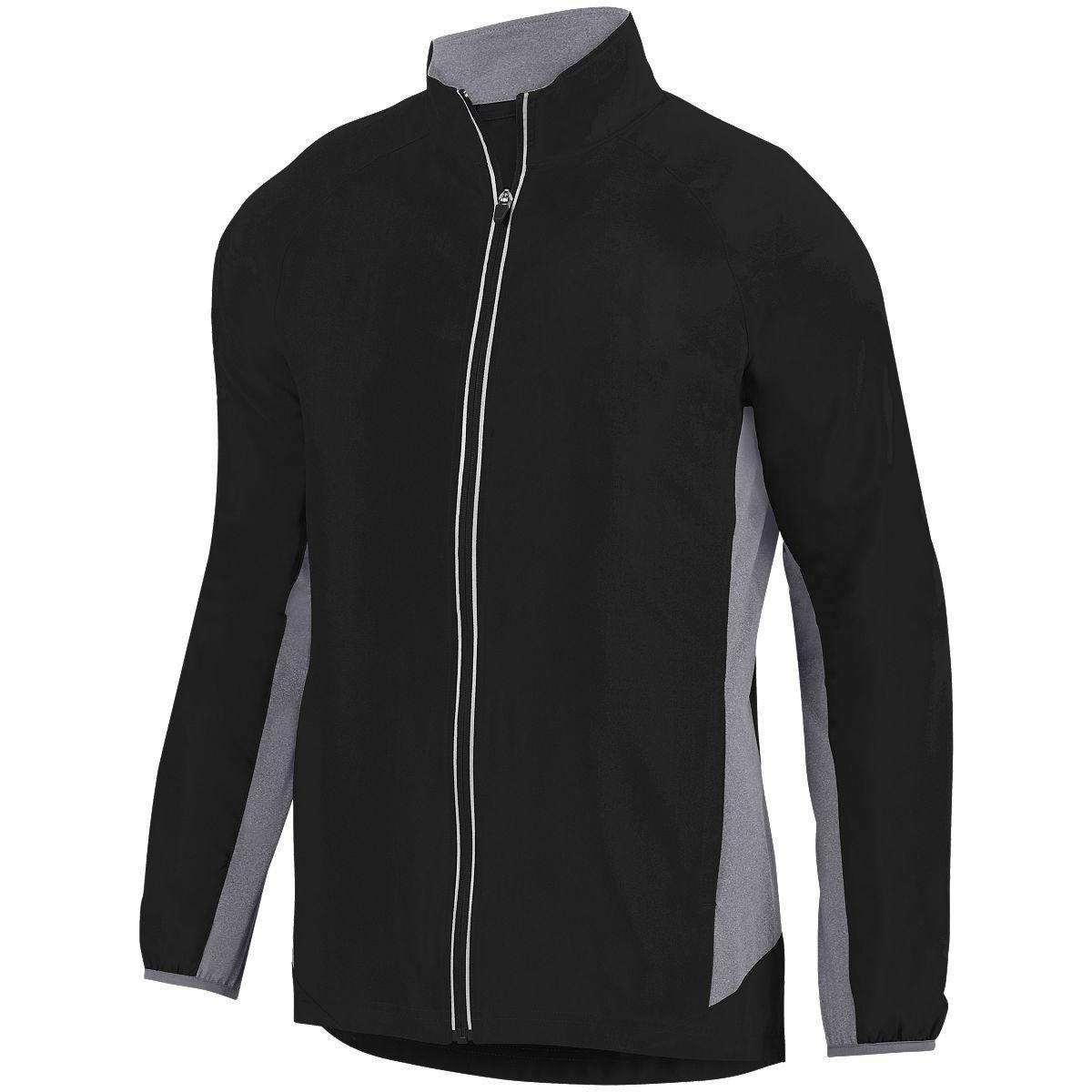 Youth Preeminent Jacket - BLACK/GRAPHITE HEATHER