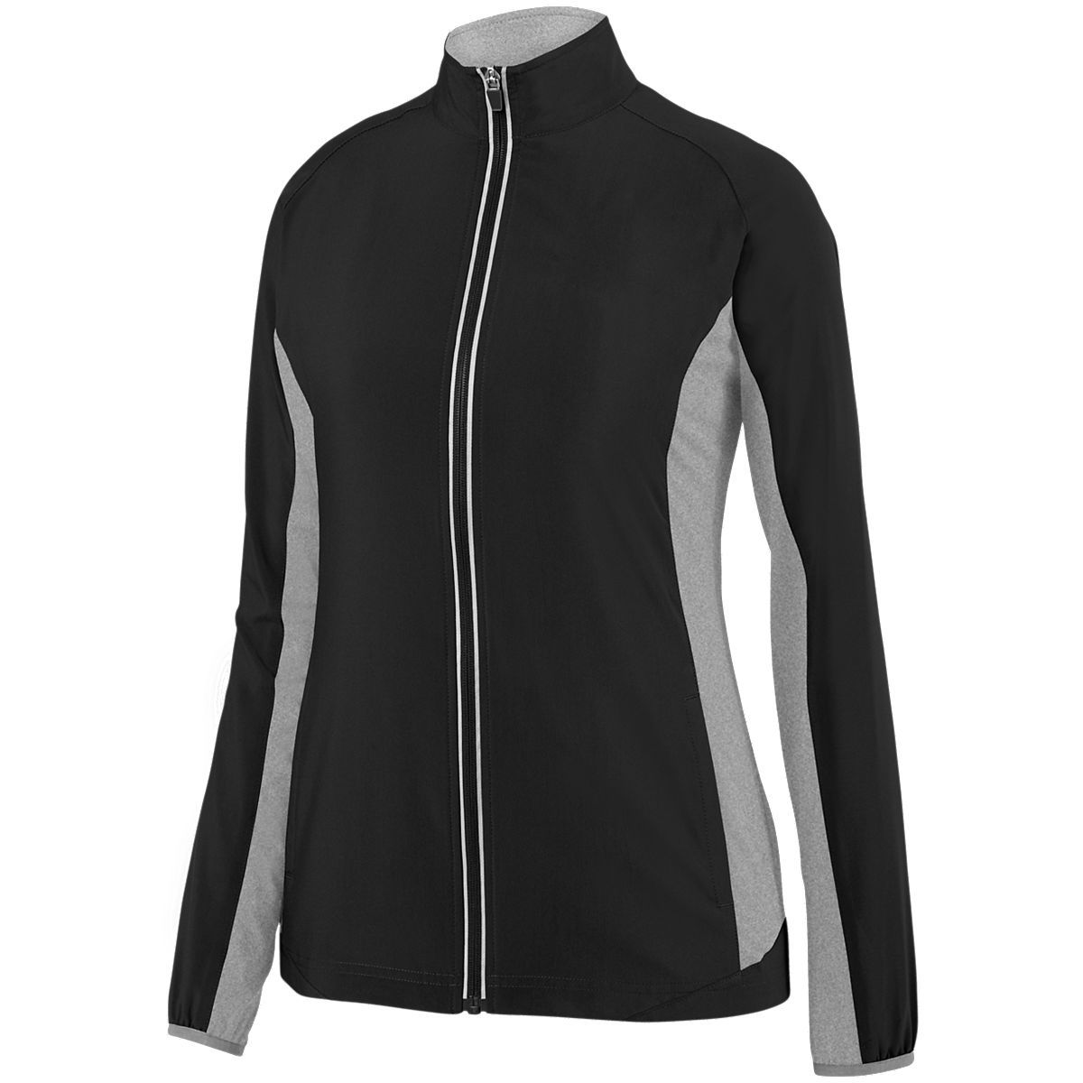 Ladies Preeminent Jacket - BLACK/GRAPHITE HEATHER
