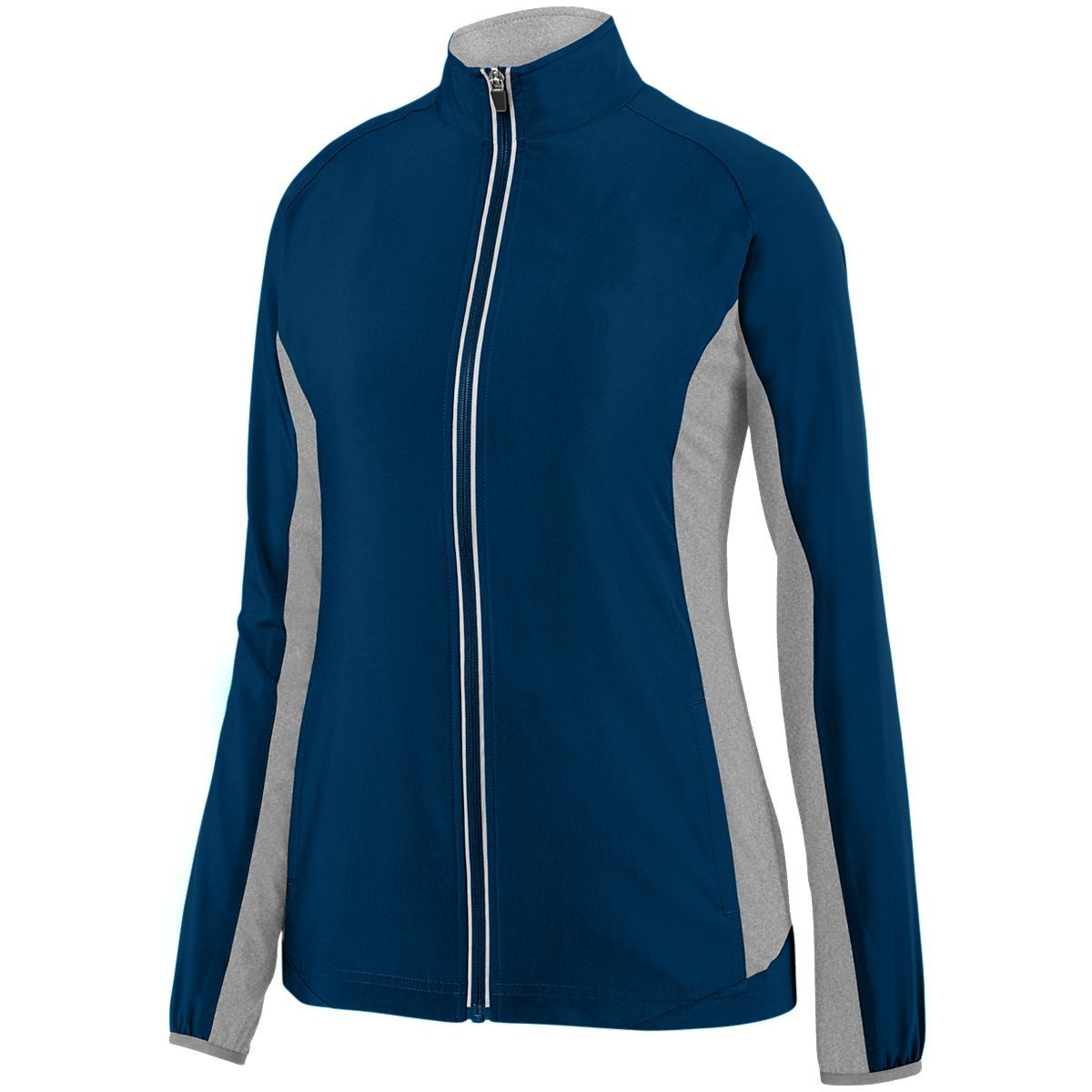Ladies Preeminent Jacket - NAVY/GRAPHITE HEATHER