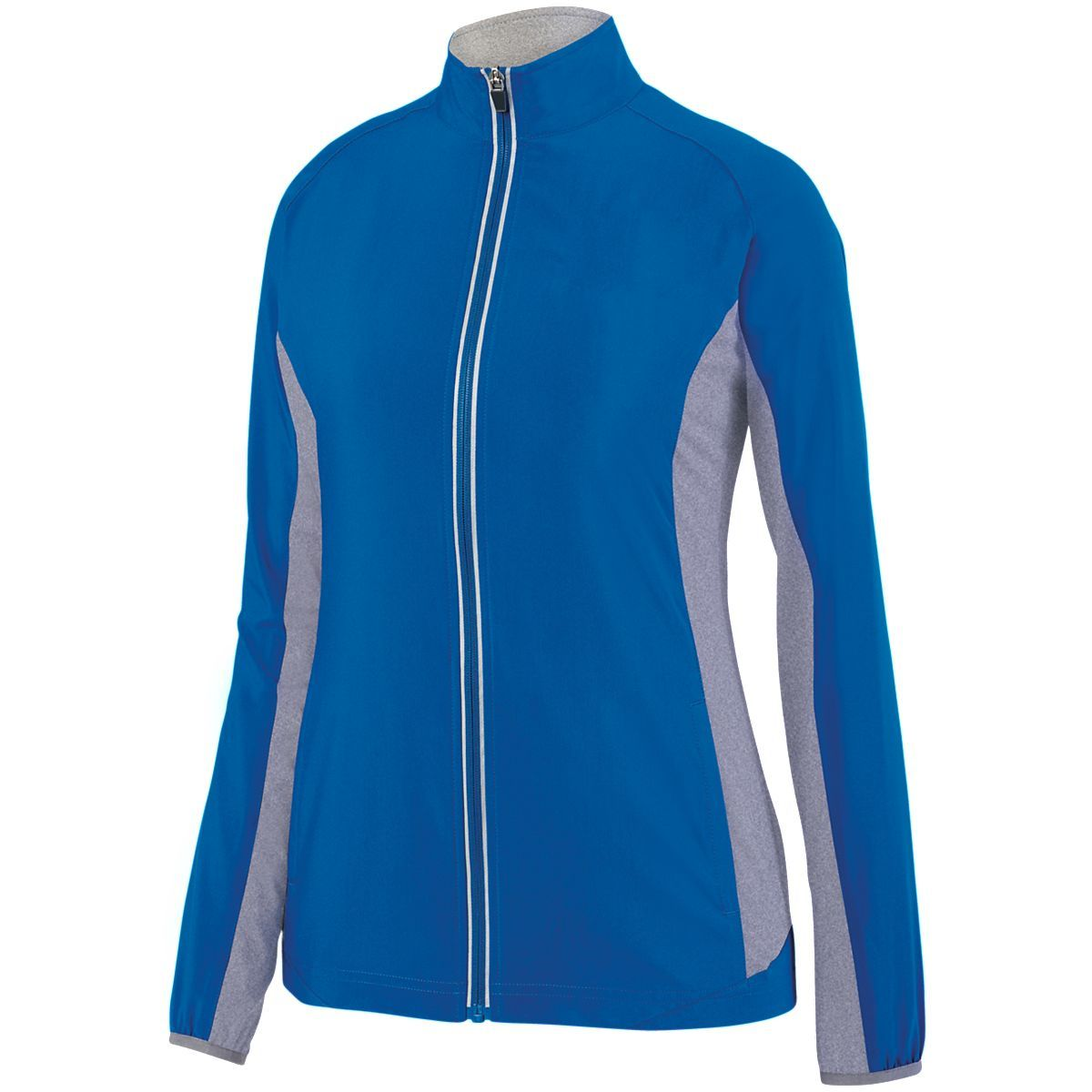 Ladies Preeminent Jacket - ROYAL/GRAPHITE HEATHER