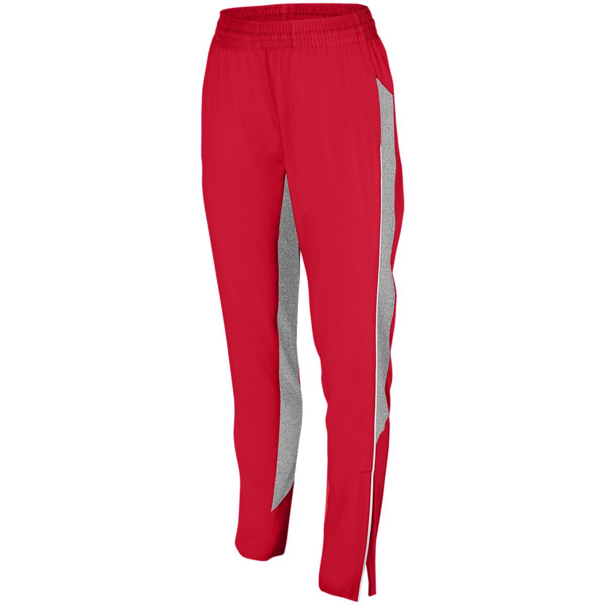 Ladies Preeminent Tapered Pant - RED/GRAPHITE HEATHER