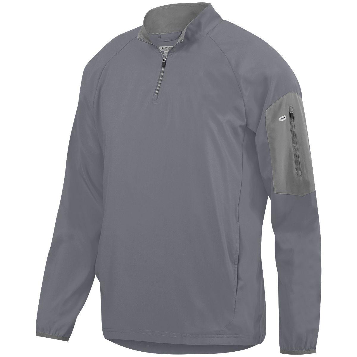 Preeminent Half-Zip Pullover - GRAPHITE/GRAPHITE
