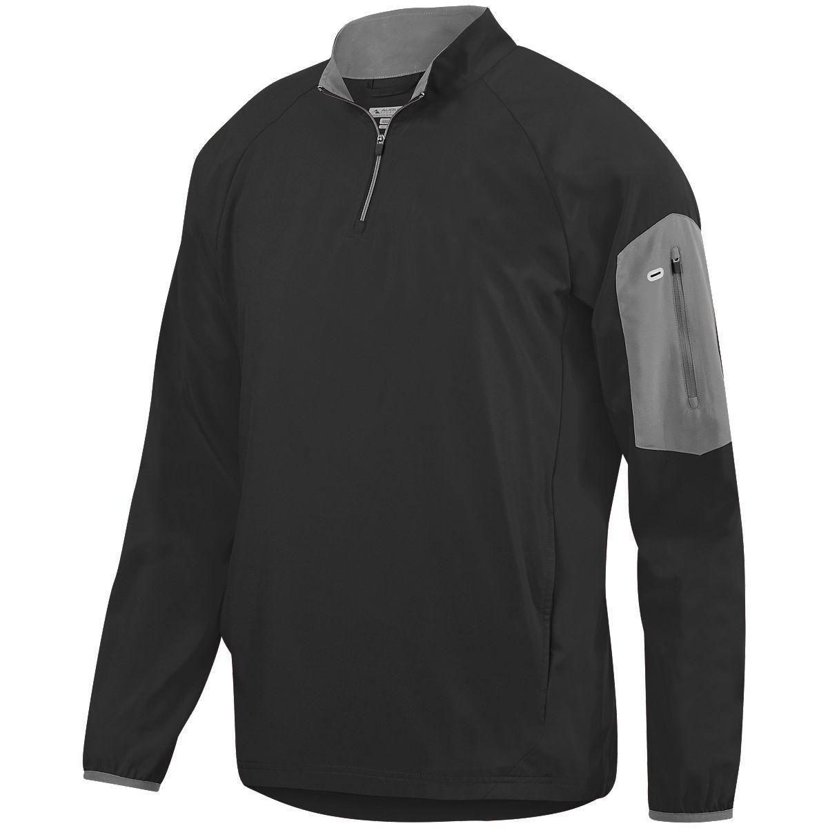 Preeminent Half-Zip Pullover - BLACK/GRAPHITE