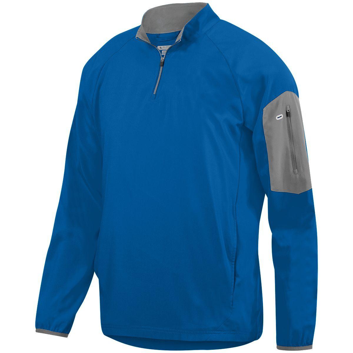 Preeminent Half-Zip Pullover - ROYAL/GRAPHITE