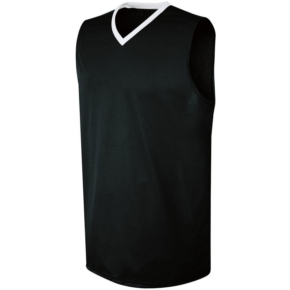Ladies Transition Jersey - BLACK/WHITE