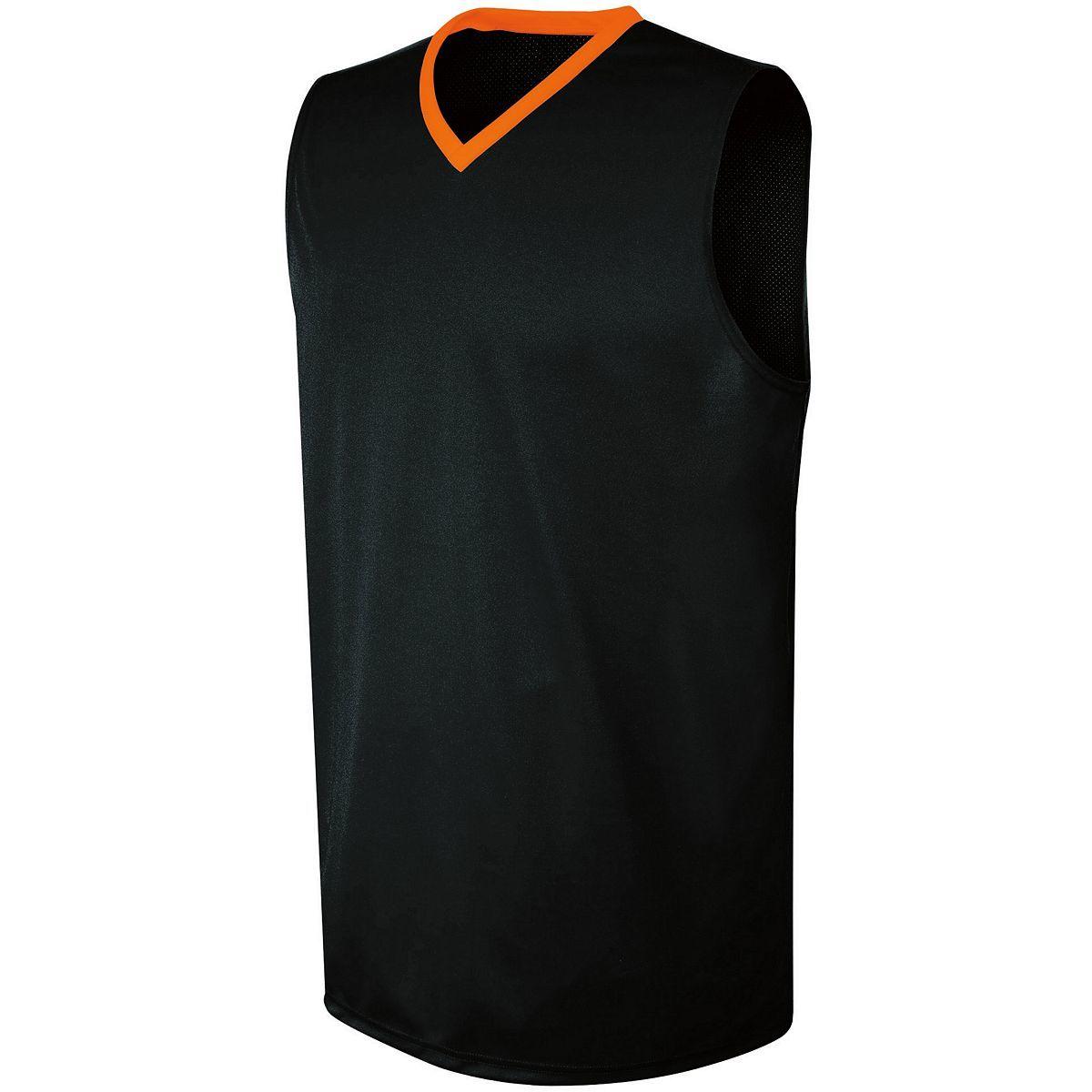 Ladies Transition Jersey - BLACK/ORANGE