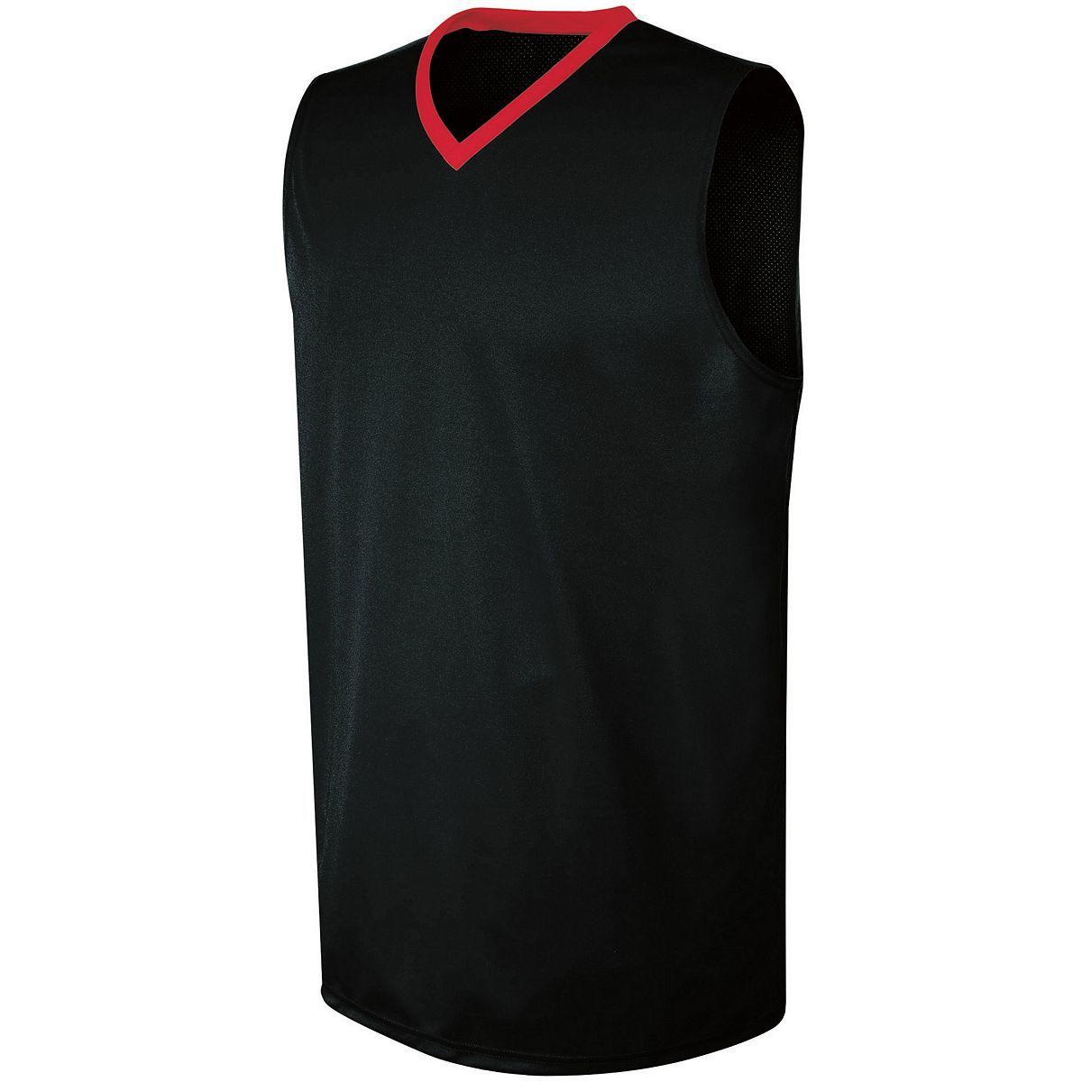 Ladies Transition Jersey - BLACK/SCARLET
