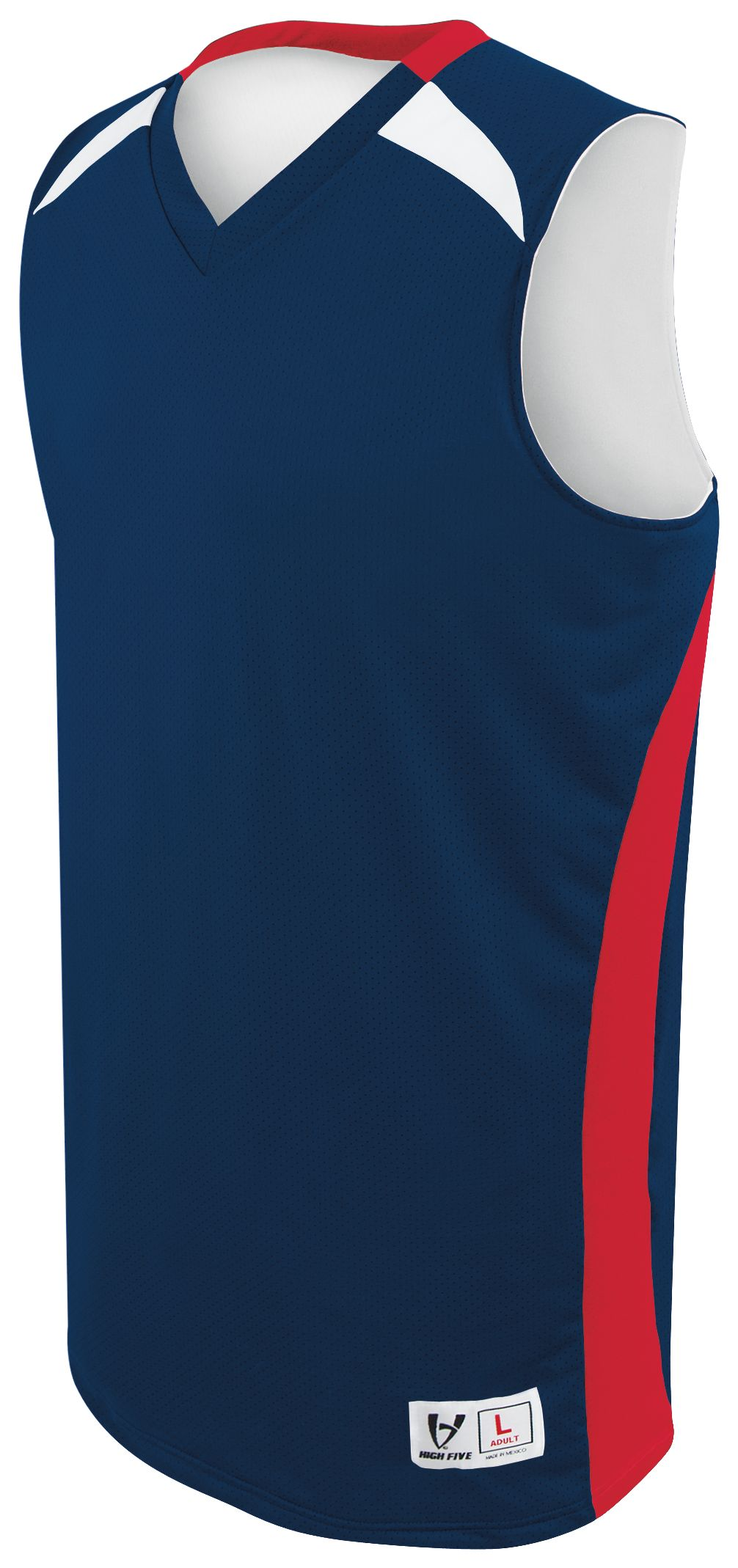 Youth Campus Reversible Jersey - NAVY/SCARLET/WHITE