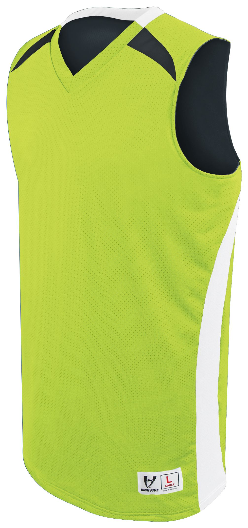 Campus Reversible Jersey - LIME/WHITE/BLACK