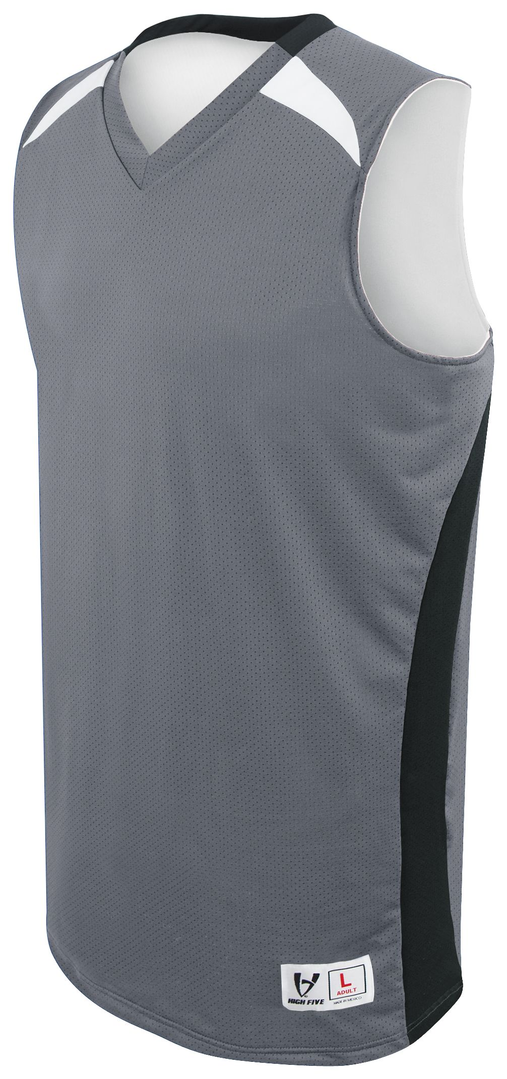 Campus Reversible Jersey - GRAPHITE/BLACK/WHITE