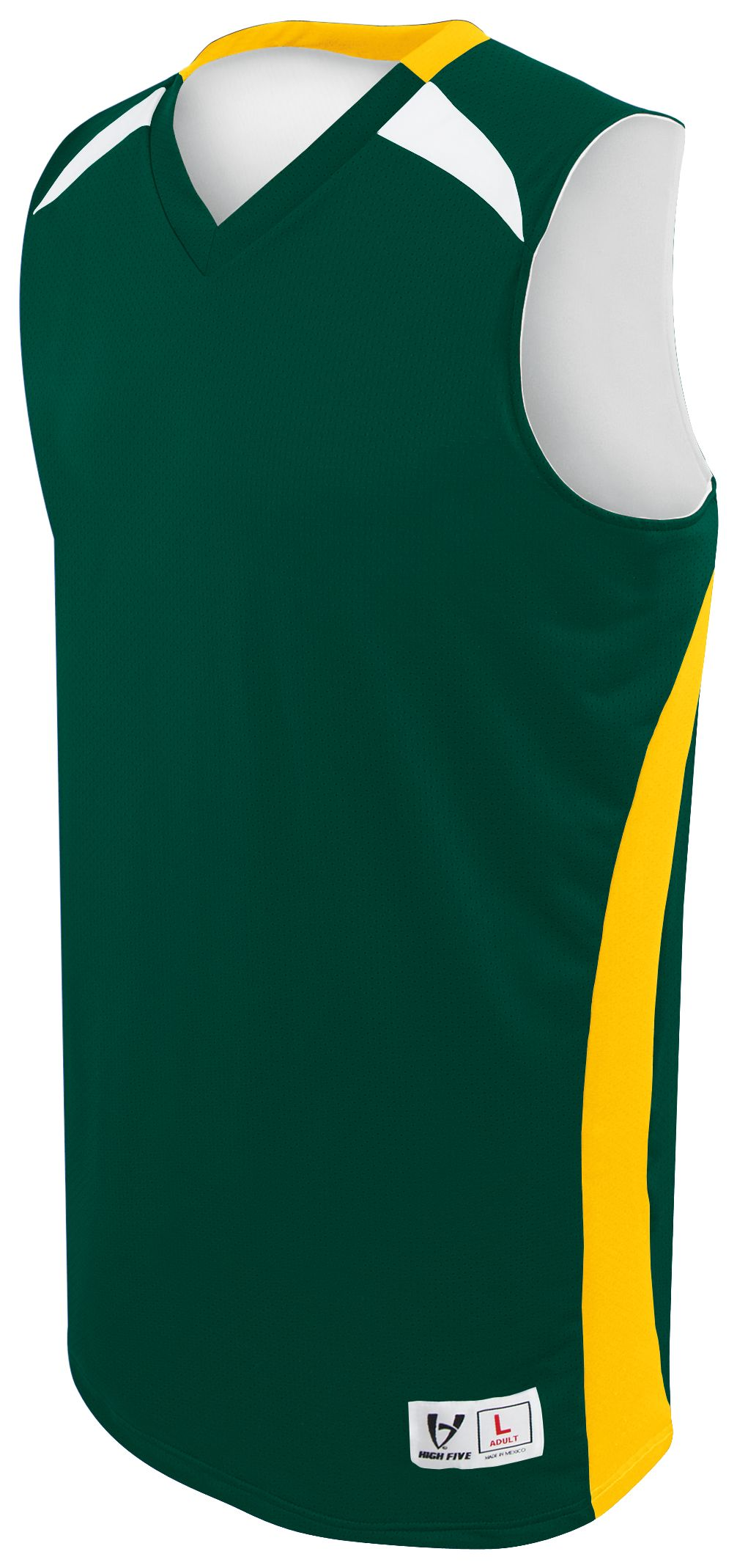 Campus Reversible Jersey - FOREST/ATHLETIC GOLD/WHITE