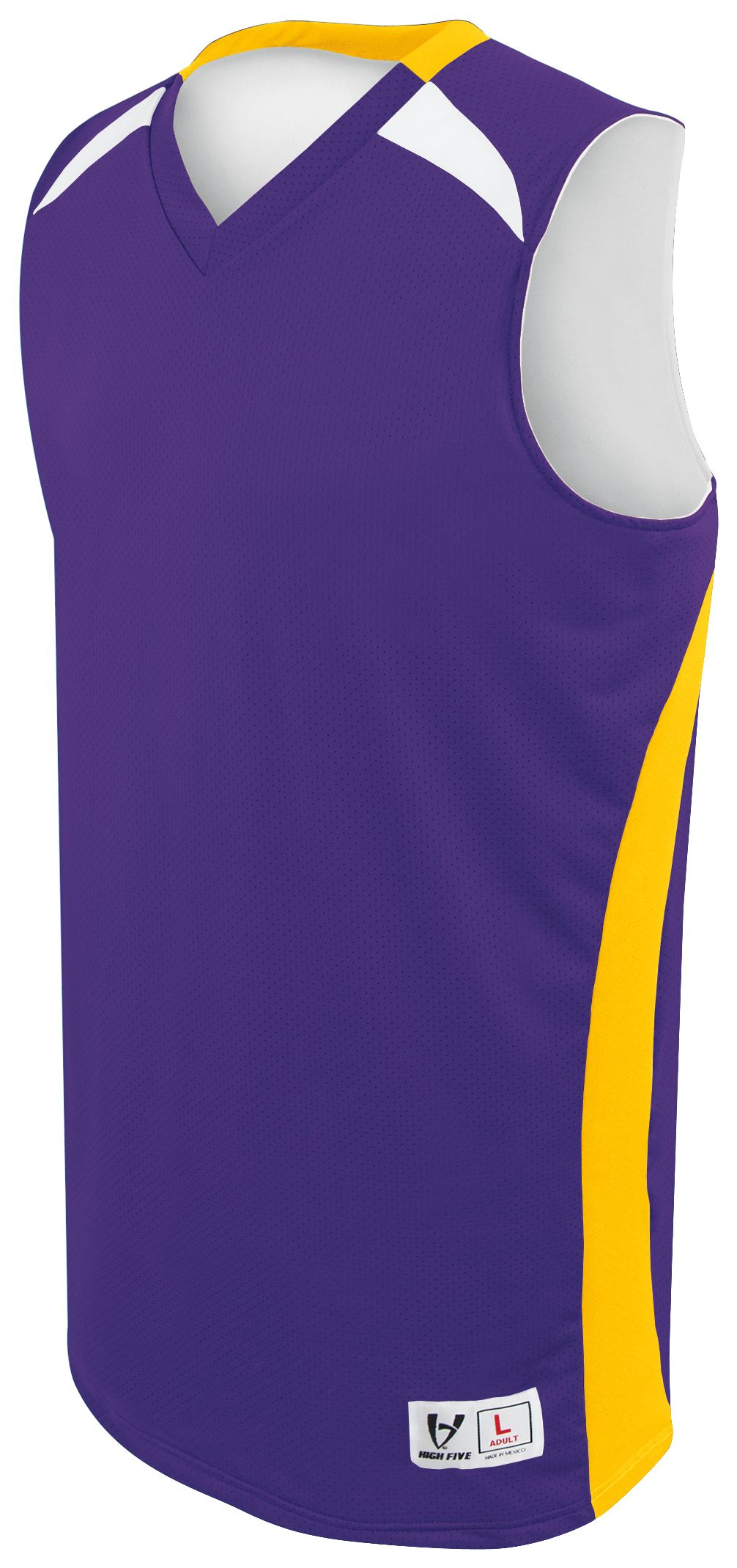 Campus Reversible Jersey - PURPLE/ATHLETIC GOLD/WHITE
