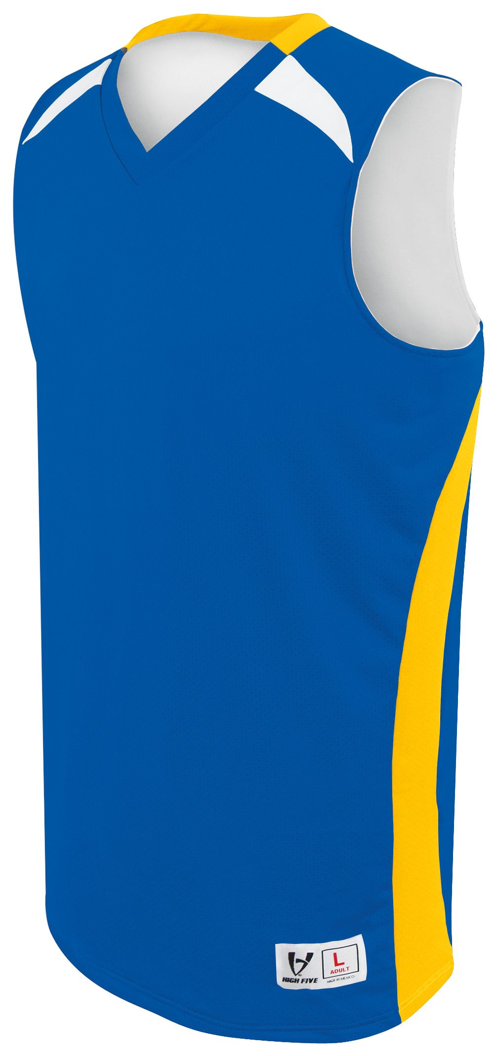 Campus Reversible Jersey - ROYAL/ATHLETIC GOLD/WHITE
