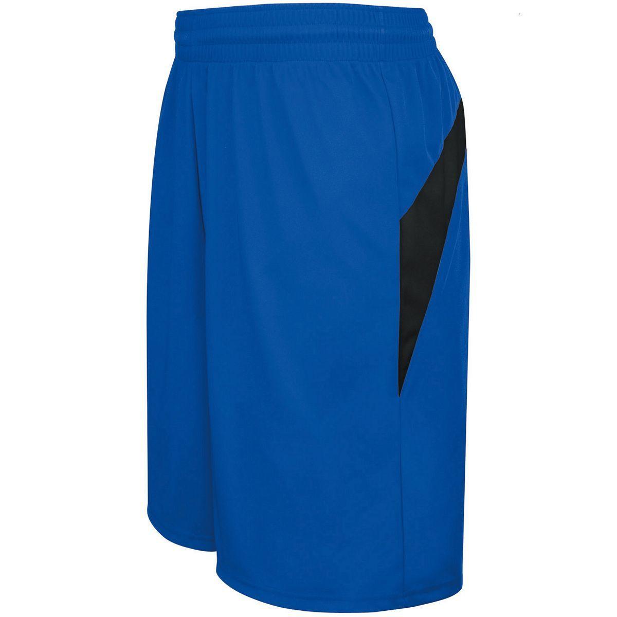 Adult Transition Game Shorts - ROYAL/BLACK