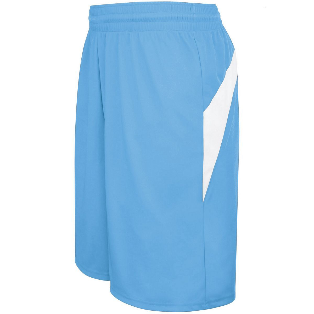 Adult Transition Game Shorts - COLUMBIA BLUE/WHITE