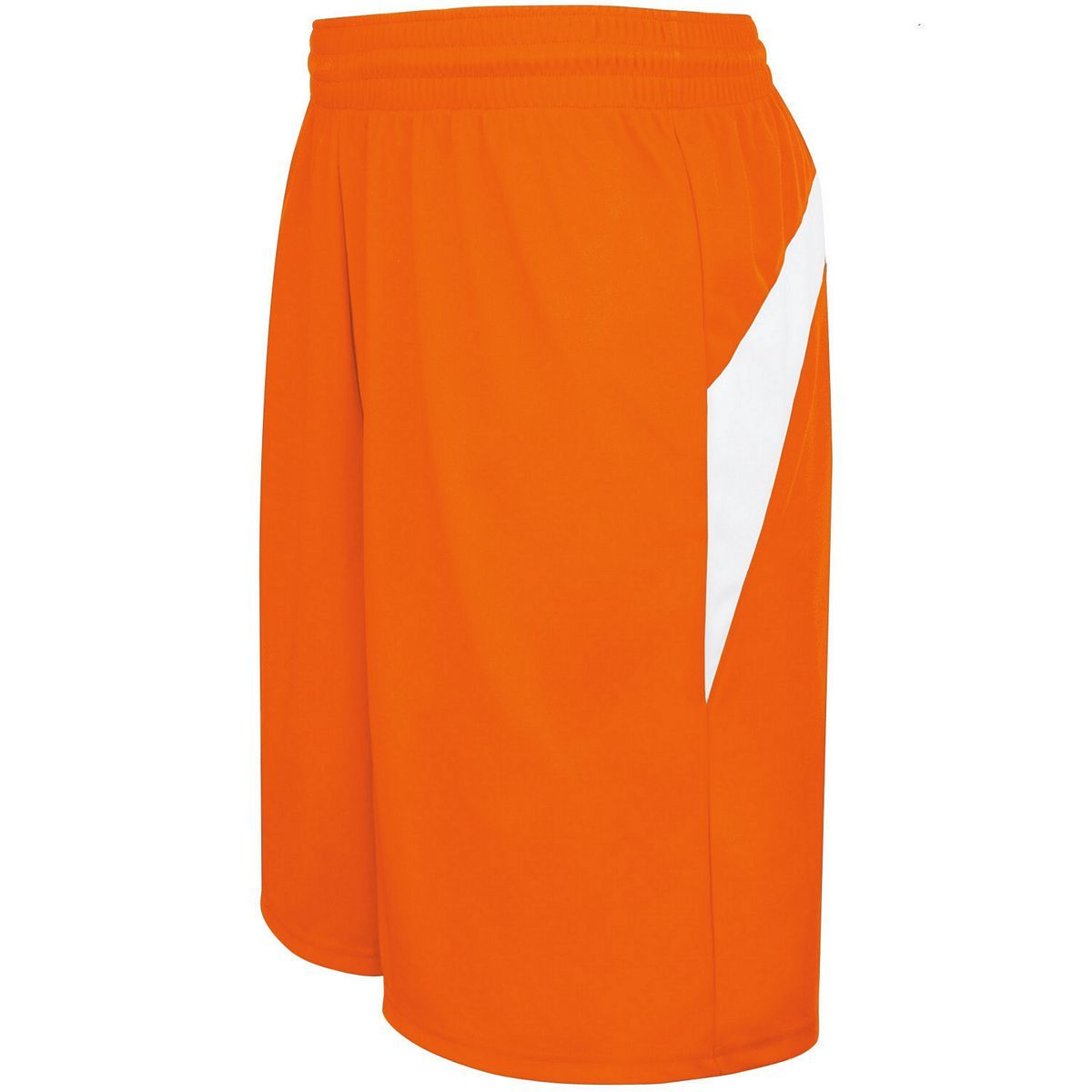 Adult Transition Game Shorts - ORANGE/WHITE