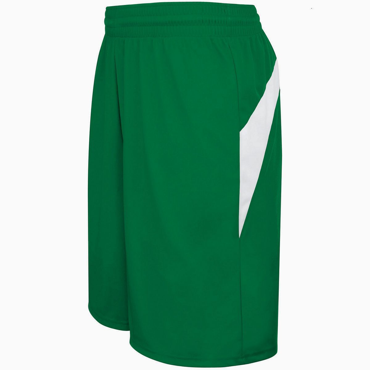 Adult Transition Game Shorts - KELLY/WHITE