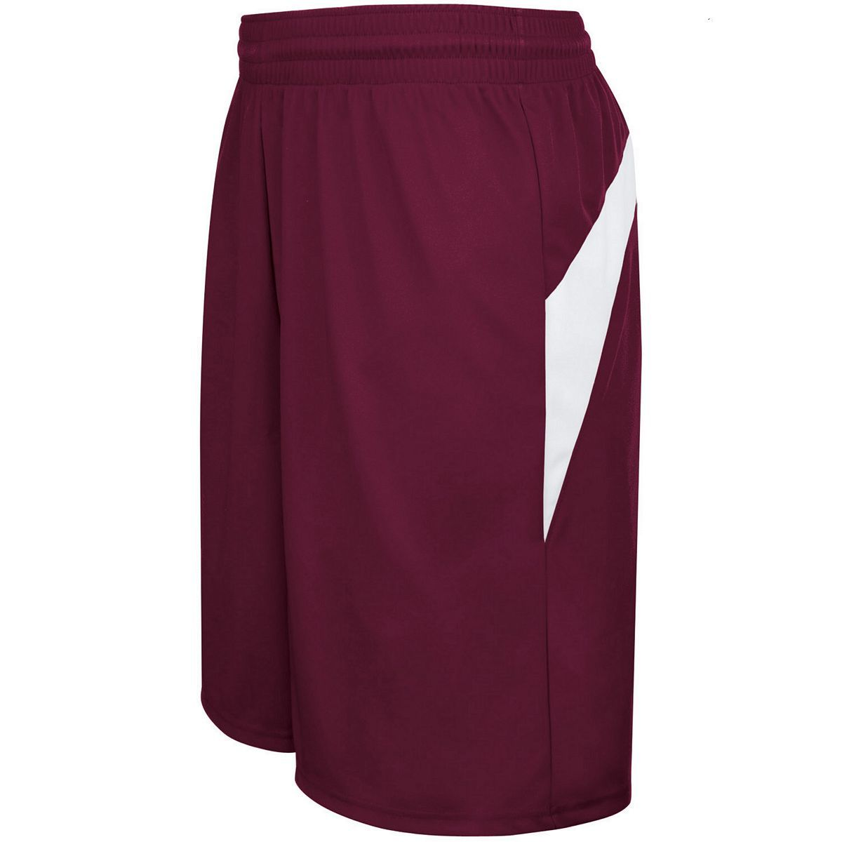 Adult Transition Game Shorts - MAROON/WHITE
