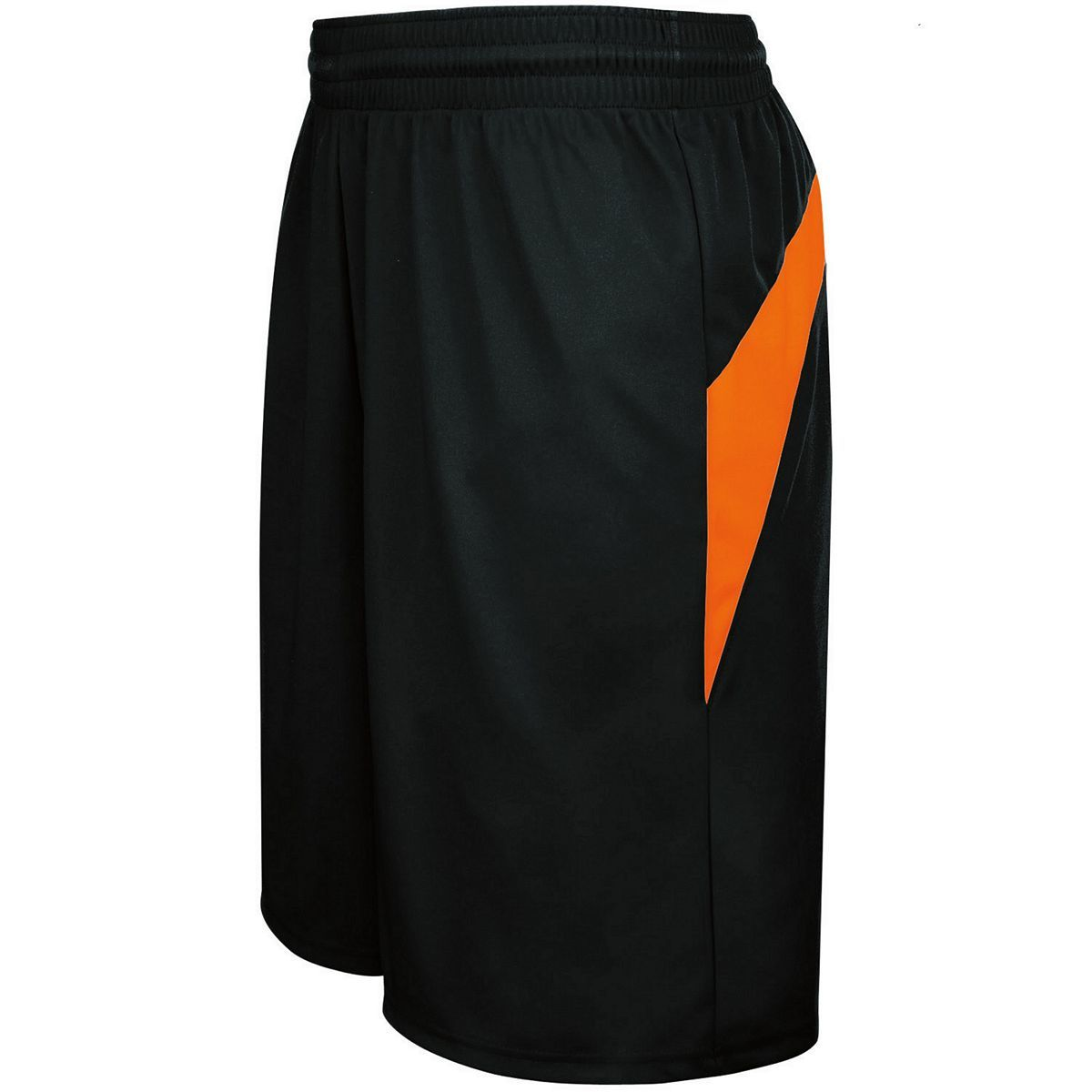 Adult Transition Game Shorts - BLACK/ORANGE