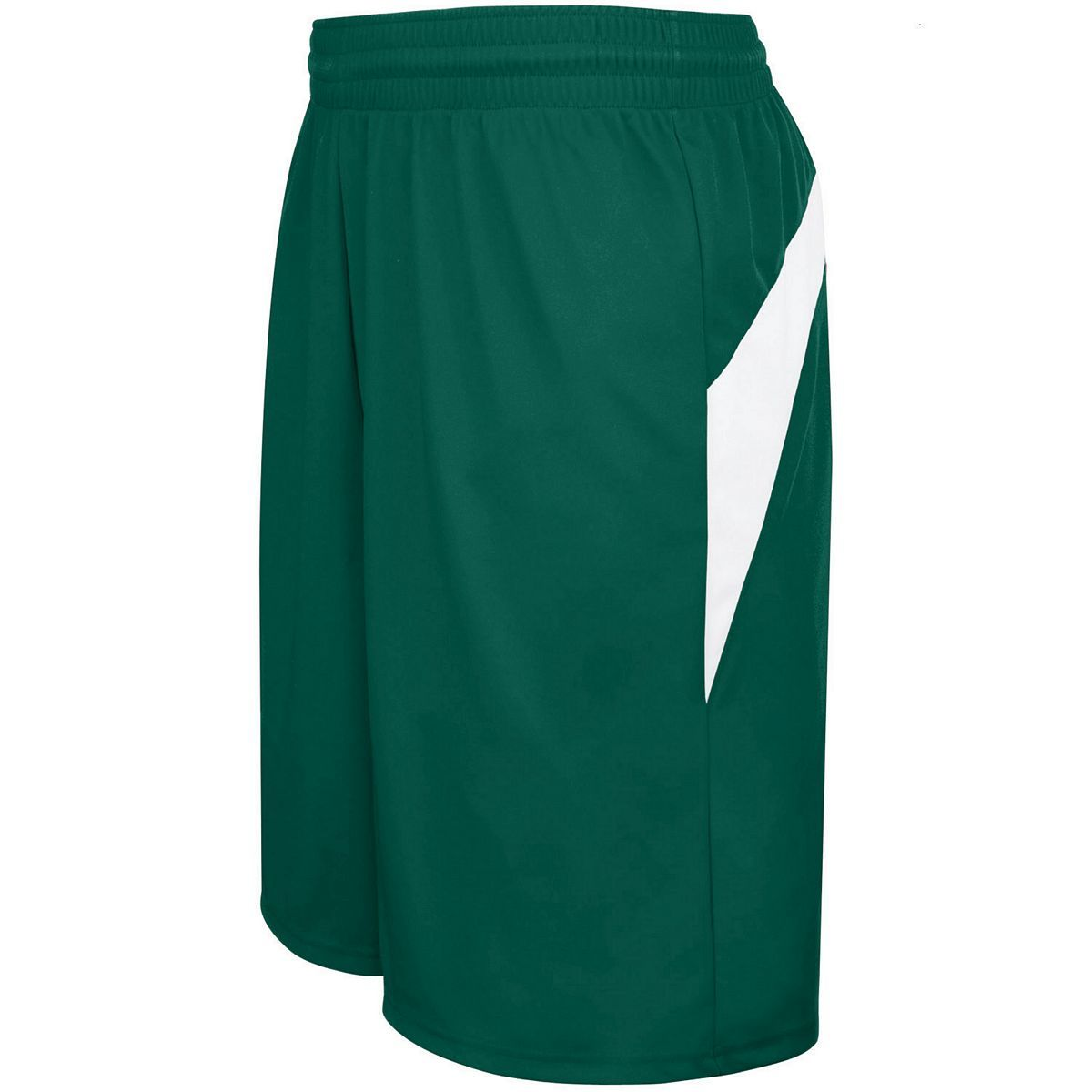 Adult Transition Game Shorts - FOREST/WHITE