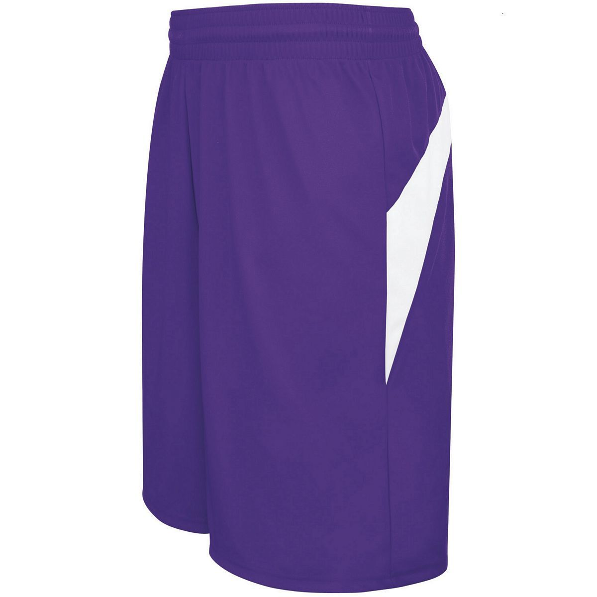 Adult Transition Game Shorts - PURPLE/WHITE