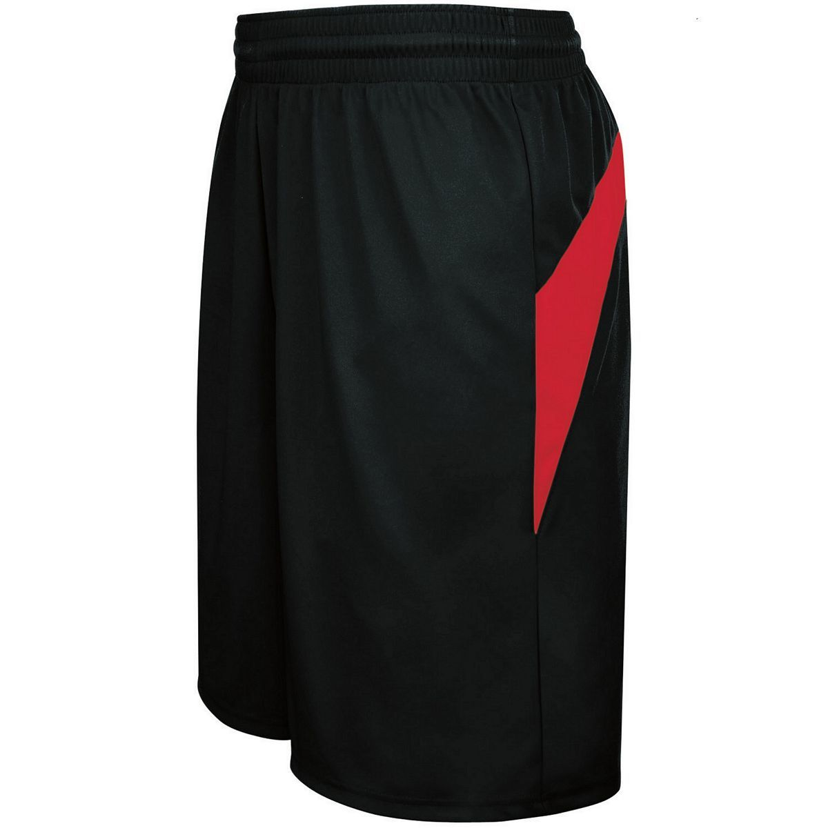 Adult Transition Game Shorts - BLACK/SCARLET