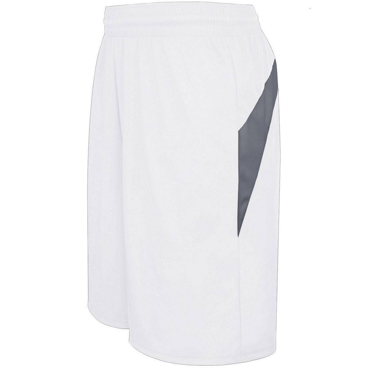 Adult Transition Game Shorts - WHITE/GRAPHITE