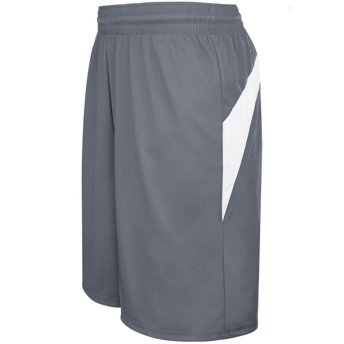 Adult Transition Game Shorts - GRAPHITE/WHITE