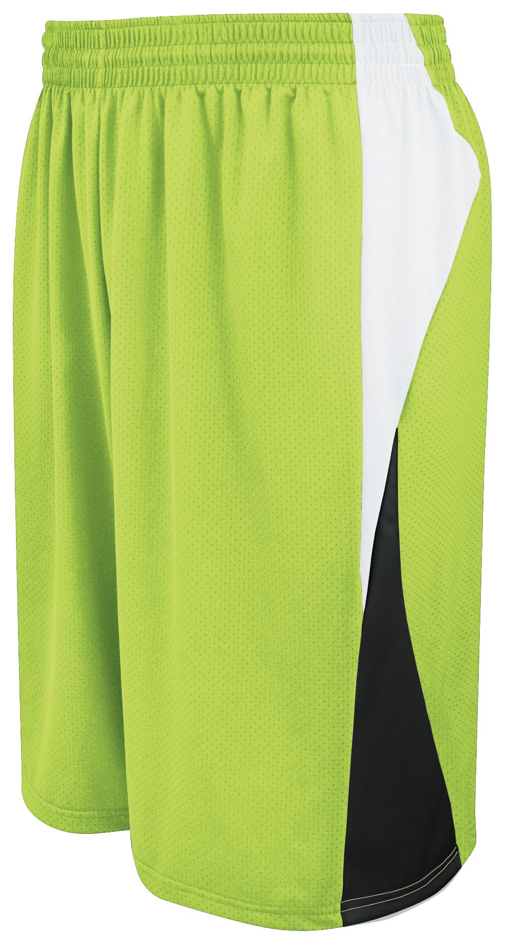Campus Reversible Shorts - LIME/WHITE/BLACK