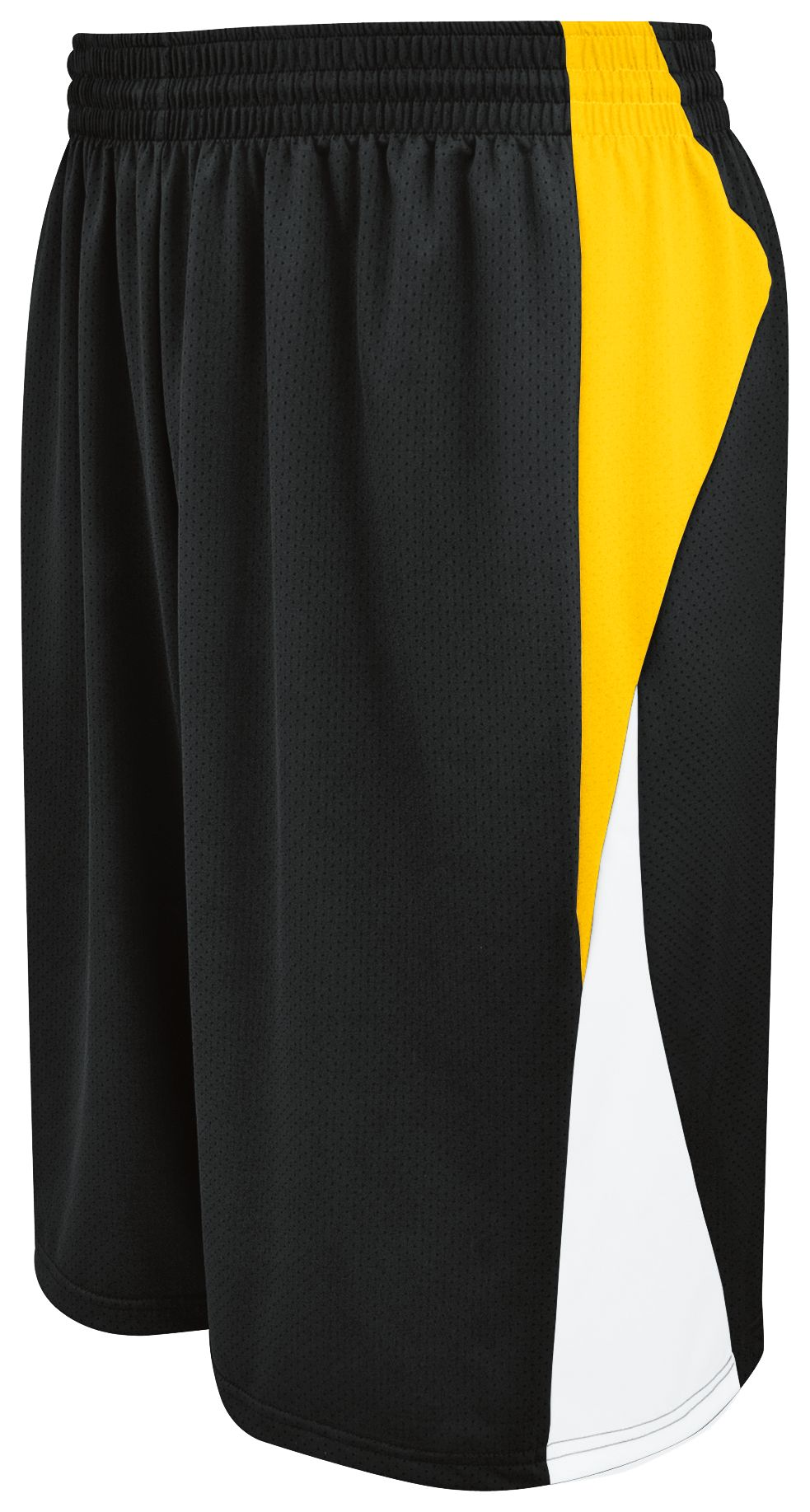 Campus Reversible Shorts - BLACK/ATHLETIC GOLD/WHITE