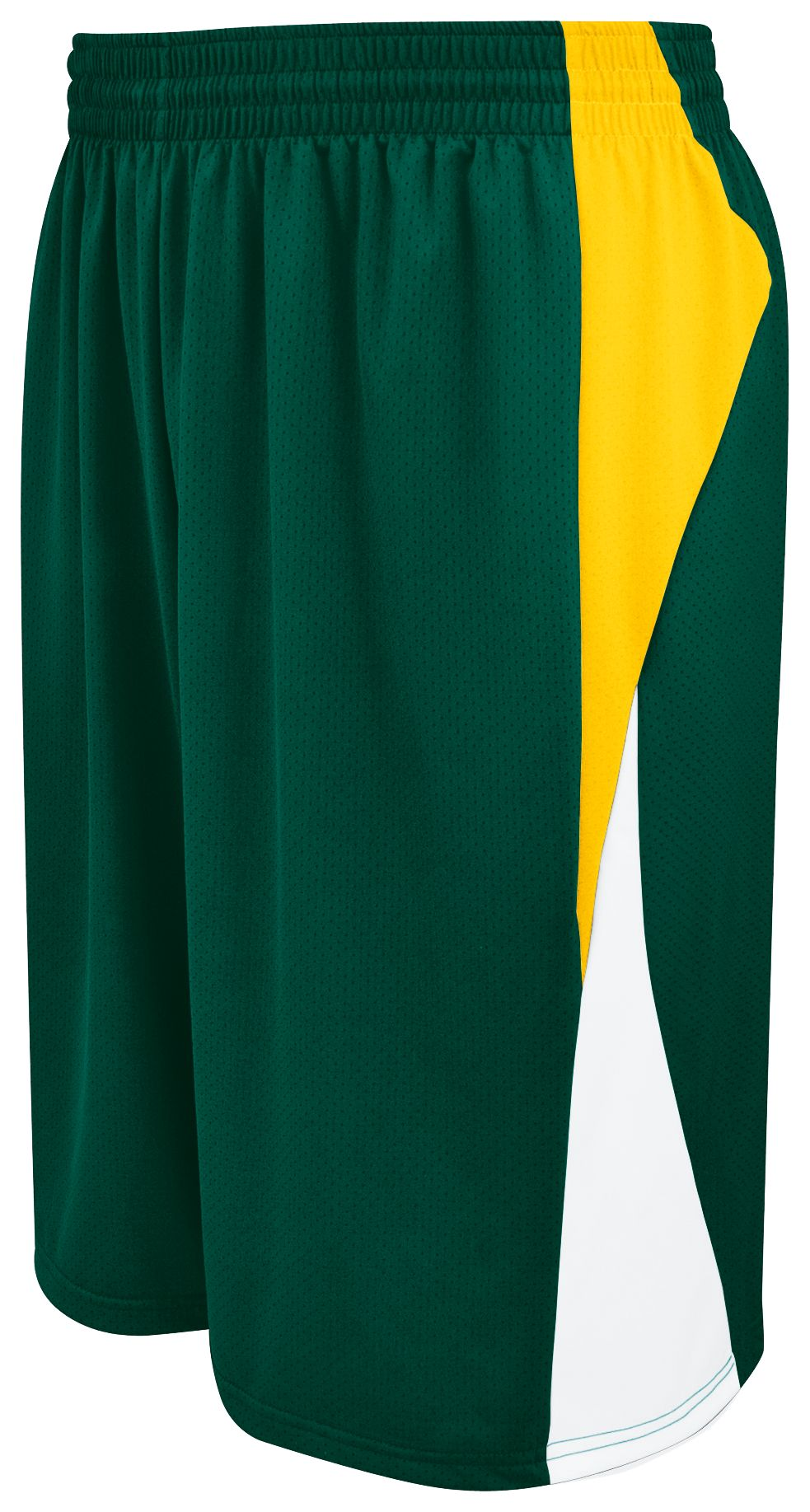 Campus Reversible Shorts - FOREST/ATHLETIC GOLD/WHITE