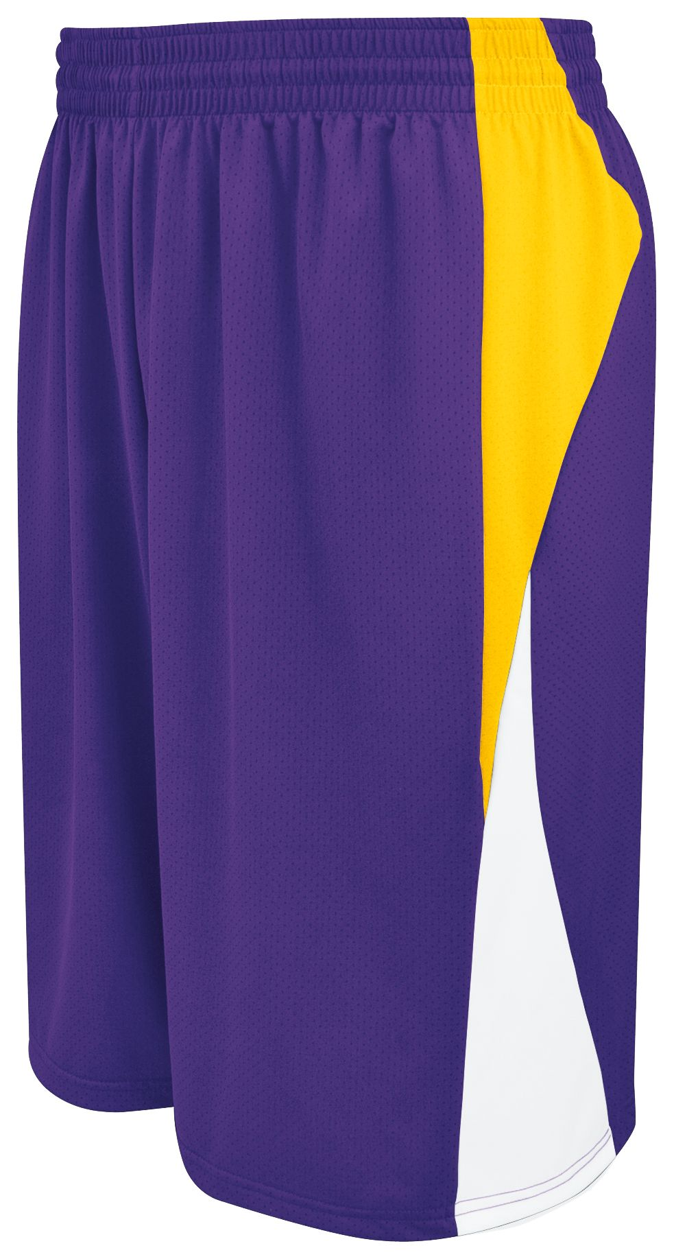 Campus Reversible Shorts - PURPLE/ATHLETIC GOLD/WHITE
