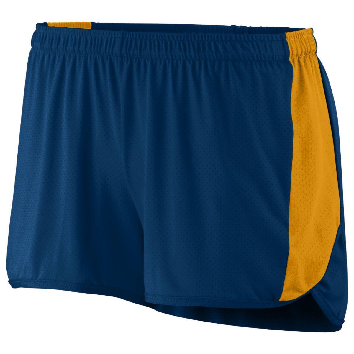 Ladies Sprint Shorts - NAVY/GOLD
