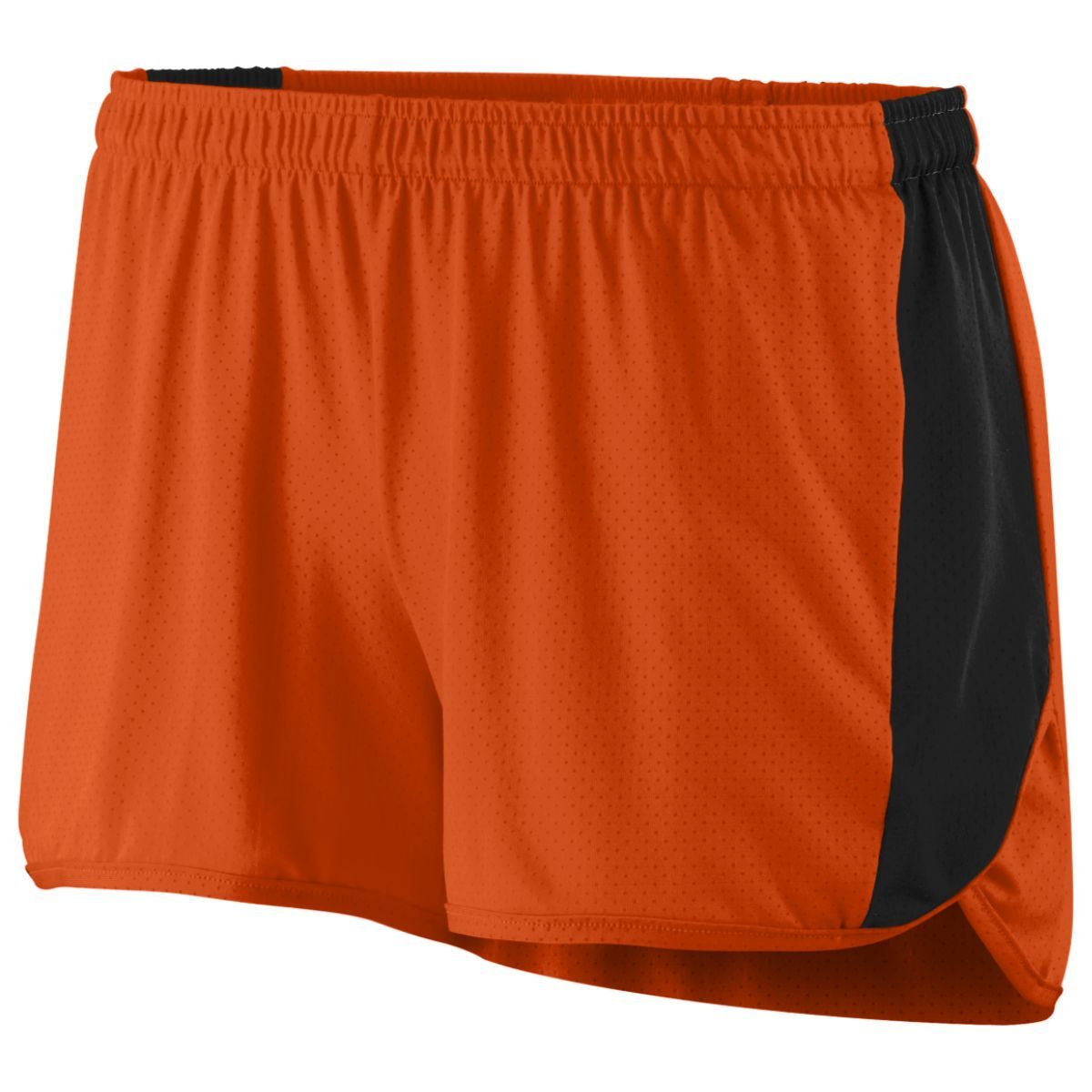 Ladies Sprint Shorts - ORANGE/BLACK