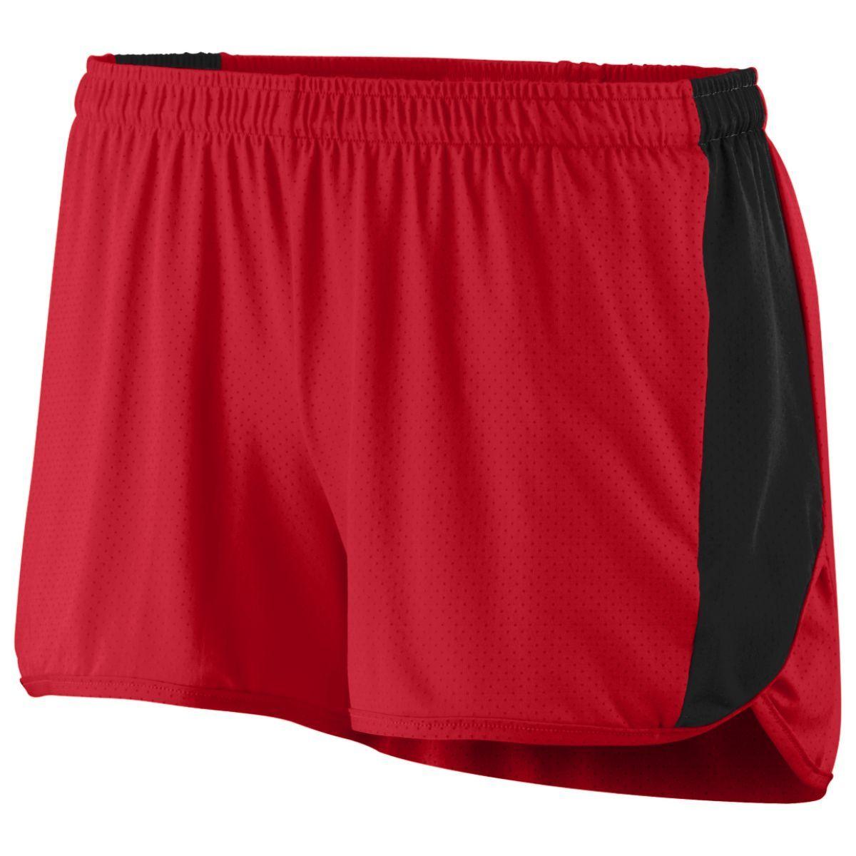 Ladies Sprint Shorts - RED/BLACK